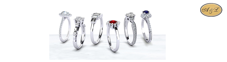 Zaručničko prstenje - srebro